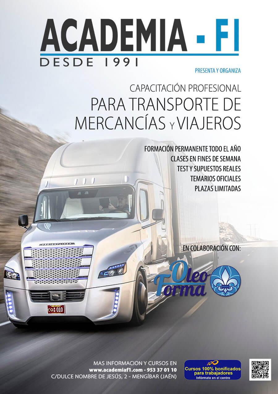 CURSO DE TRANSPORTISTA 2016