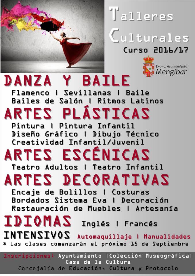 talleres culturales 2016-2017